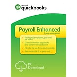 QuickBooks Desktop Payroll Enhanced 2018 for Windows (1 User) [Download]