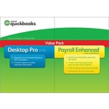 QuickBooks Desktop Pro w/ Enhanced Payroll 2018 for Windows (1 User) [Download]