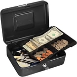 Honeywell Cash Management Box, 4 Compartments, Black (6202)