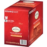 Twinings English Breakfast Decaf Tea, Keurig K-Cup Pods, 24/Box (F08757)