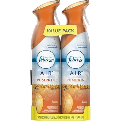 Febreze AIR™ Freshener, 2 Pack, Fresh-Fall Pumpkin, 17.6 Oz.