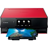 Canon PIXMA TS9120 Wireless Inkjet All-in-One Printer, Red