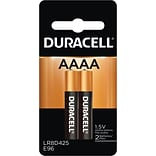 Duracell® Ultra Power Alkaline AAAA Batteries, 1.5V, 2-Pack