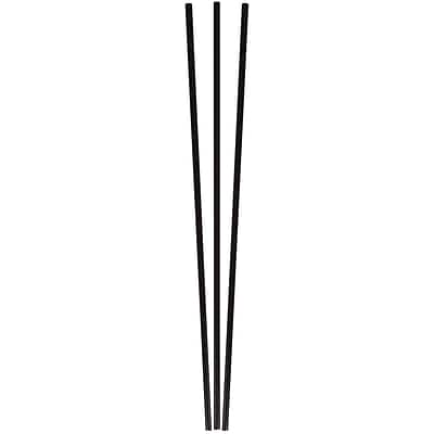 Berkley Square® Unwrapped 8 Round Stirrer, Sipper Straws, Black, 500/Pack (1241207)
