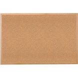 Ghent Traditional Natural Cork Bulletin Board, Wood Frame, 4W x 3H