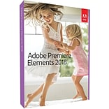 Adobe Premiere Elements 2018 for Windows/Mac (1 User) [Boxed]