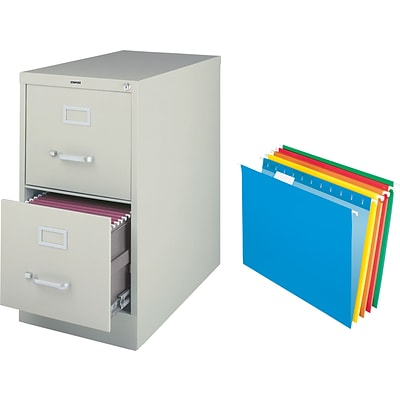 free file folders when you buy a quill 2 drawer letter size vertical