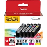 Canon PGI 280/ CLI-281 5 Color Pack (2021C007)