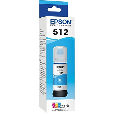 Epson EcoTank Ink Bottle Cyan