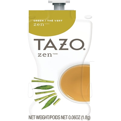 MARS DRINKS™ Flavia® Tazo® Zen Freshpack, Green Tea, 80/CT