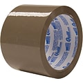 Quill 3 Medium-duty Natural Rubber Tape; 55 yds, Tan, 2.3 mil, 6/Pack