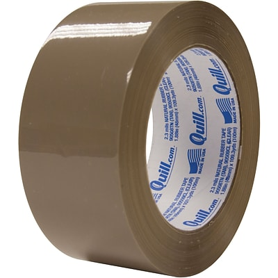 Quill 2 Medium-duty Natural Rubber Tape; 110 yds, Tan, 2.3 mil