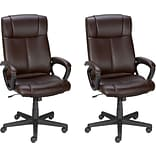 Buy 1 Quill Brand® Turcotte Managers Chair; Brown, Get 1 FREE!
