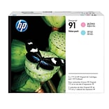 HP 91  Printhead, 91 Light Magenta/Light Cyan Value Pack
