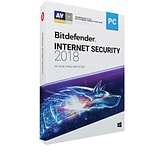 Bitdefender Internet Security 2018 3 Users 3 Year for Windows (1-3 Users) [Download]