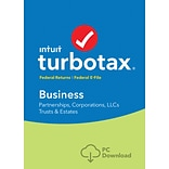 TurboTax Business Fed + Efile 2017 for Windows (1 User) [Download]