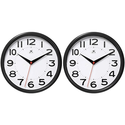 FREE Clock When You Buy A Infinity Instruments Home Essential Wall Clock,9 Diameter