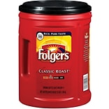 Folgers® Classic Roast Ground Coffee; 48 Oz...