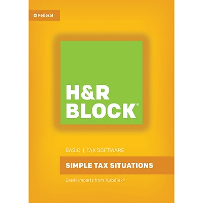H&R Block 17 Basic for Windows (1 User) [Download]