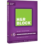 H&R Block 17 Deluxe + State for Windows (1 User) [Boxed]