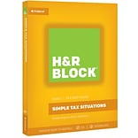 H&R Block 17 Basic for Windows (1 User) [Boxed]