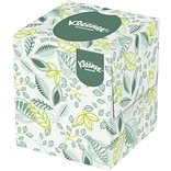 Kleenex® Naturals Cube Box Facial Tissues, 2-Ply, White, 36 Boxes/Case
