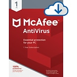 McAfee AntiVirus for 1 Device for Windows (1 User), Download (T9QXAJZ8NVP3HLA)