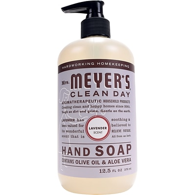 Mrs. Meyers Clean Day Hand Soap, Lavender, 12.5 fl oz (651311)