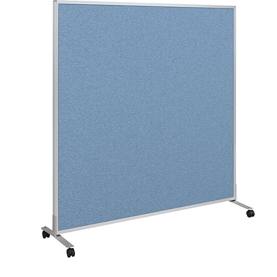Best-Rite Fabric Standard Modular Panel, 5 x 5, Blue