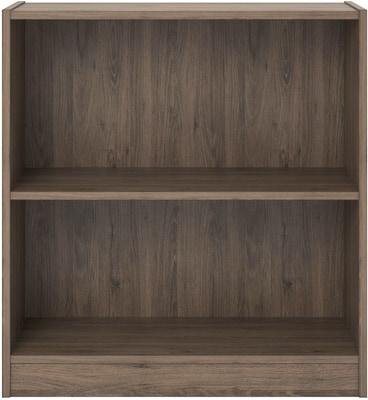 Ameriwood Home Hayden 2 Shelf Bookcase Rustic Oak 9613333st