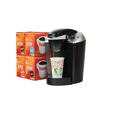 Keurig® K140 Commercial Brewer and 96 Dunkin Donuts® K-Cups plus FREE Hot Cups
