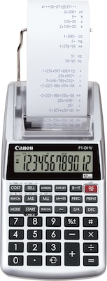 Canon(r) Hand Held Calculators, 12 Digit Portable Printer/Display (P1 DHV)