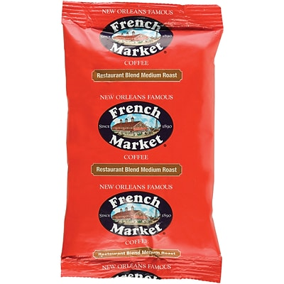French Market Medium Roast Coffee 40ct, 2oz (298411)