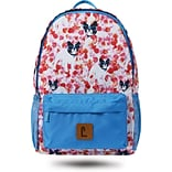 Staples Paxton 16 Backpack, French Bull Dogs Pattern, 4.72W x 16.14H x 11.81D (52399)