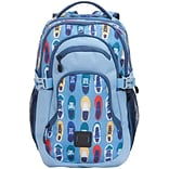 Staples Pembroke 18 Backpack, Sneakers Pattern, 6.88W x 18.11H x 12.20D (52423)