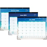 2018-2019 Blue Sky Academic Desk Pad Calendar, Endless Summer, 22 x 17 (BSK-102106-A19)