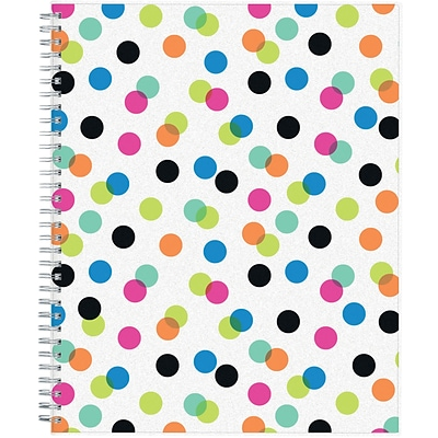 2018-2019 Blue Sky Academic Ampersand, Weekly/Monthly Planner, Dots, 8-1/2 x 11 (BSK-100759-A19)