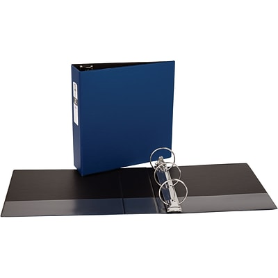 Avery Economy Binder with 3 Round Ring , Blue (3601)