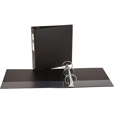 Avery Economy Binder with 3 Round Ring, Black (3602)