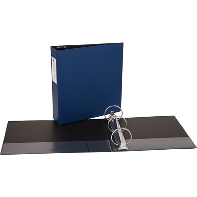 Avery Economy Binder with 3 Round Ring, Blue (4600)