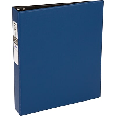 Avery® Economy 1-1/2 Round Ring Binder, Non-View, Blue, 3-Ring