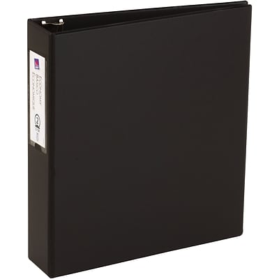 Avery Economy Binder with 2 Round Ring, Black (4501)