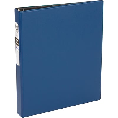 Avery Economy Binder with 1 Round Ring, Blue (3300)