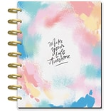 The Happy Planner® 2018-2019 Classic 18 Month Planner, Brushy Brights (PLNR-64)