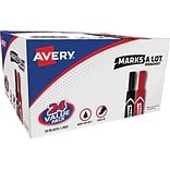 Avery® Marks-A-Lot® Permanent Marker, Regul...