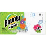 Bounty® Quilted Paper Napkins, 1-Ply Dinner Napkins, 200/Pack