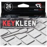 Read Right KeyKleen Keyboard Cleaner, Unscented, 24/Box