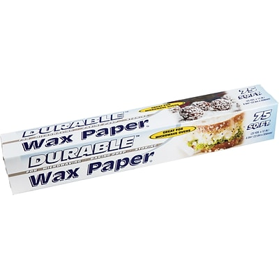 Durable Packaging Wet Wax Rolls 12x75 sq. ft. 24pk (URD75075)