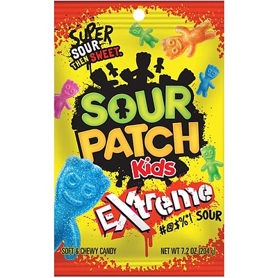 Sour Patch Kids Extreme, 7.2 oz, 12 Count (304-00045)