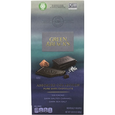 Green & Black Dark Pure Chocolate Variety 16.9 oz. (12700)